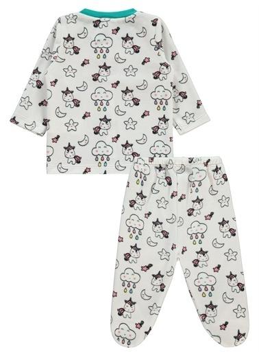 Civil Baby Civil Baby Kız Bebek Pijama Takım 3-6 Ay Yavruağzı Civil Baby Kız Bebek Pijama Takım 3-6 Ay Yavruağzı Renkli